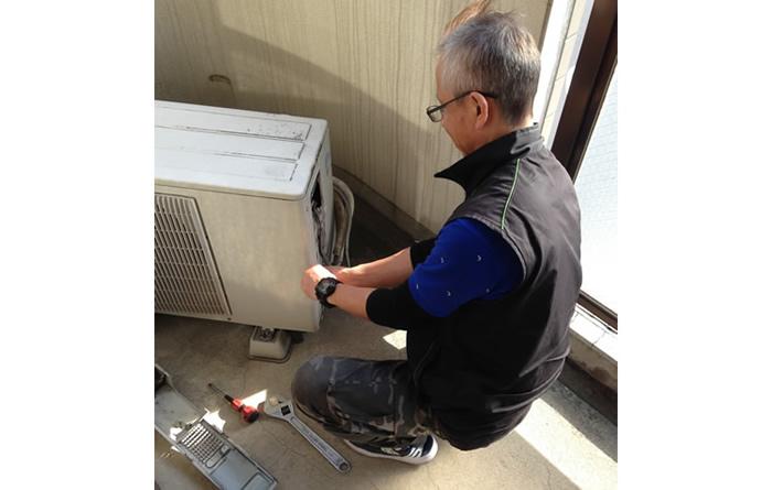 エアコン取外工事無料です